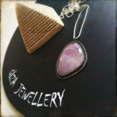 Pink Sapphire stone  Silver925