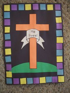Ideas Religious Easter Art For Kids Learning Bible School Crafts, Bible Crafts, Preschool Crafts, Catholic Crafts, Church Crafts, Religion Activities, Christian Crafts, Christian Easter, Sunday School Projects