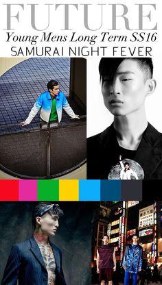 TREND COUNCIL SS 2016- YOUNG MEN'S- SAMURAI NIGHT FEVER