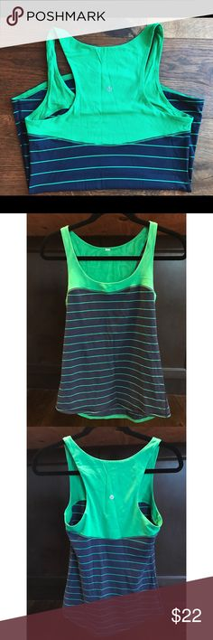 Lululemon work out tank Super cute and in great condition Lululemon work out tank. lululemon athletica Tops Tank Tops