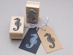 Tiere - Stempel I Seepferdchen - ein Designerstück von STAMPelART bei DaWanda