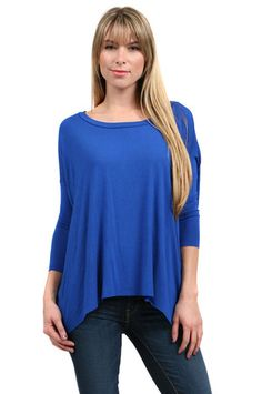 Bailey 44 Slouch Top in Royal $86