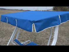 How to Make a Replacement Swing Canopy – Do-It-Yourself Advice Blog.
