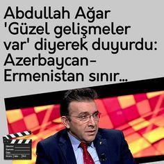"""Instagram'da Kenan Gümüş ...✒: """"⚫Abdullah Ağar; ↘'Güzel gelişmeler var'↙ ⚫diyerek duyurdu: ⚫Azerbaycan-Ermenistan sınır... ⚫Terör ve Güvenik Uzmanı Abdullah Ağar…"""""""