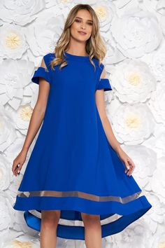 Reduceri rochii -70% - preturi reduse - Rochii Romania Short Sleeve Dresses, Dresses With Sleeves, Savannah, Floral, Shopping, Sweet, Fashion, Gowns With Sleeves, Moda