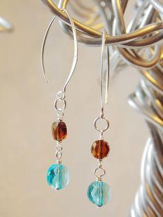 SandScape Earrings  -SOLD