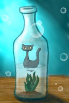 Bottle Cat