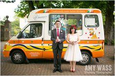 Ice Cream Van at a Wedding