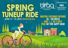 Can't wait to host over 1,000 cyclists in April!