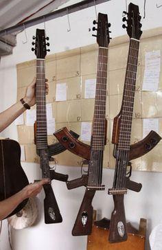 Gun Guitars...AWESOME