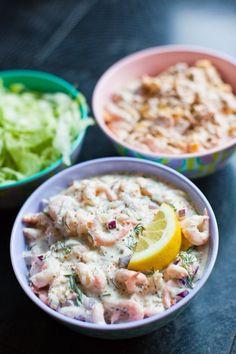 Skagenröra och Kyckling- och Baconröra - 56kilo.se - Recept, inspiration och livets goda