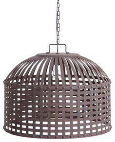 Basket Weave Chandelier - modern - chandeliers - atlanta - by Iron Accents