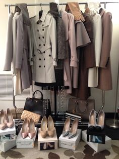 Basically everything in Olivia Pope's wardrobe!! Want everything in my closet!!