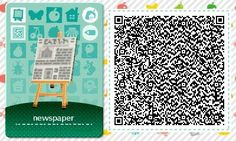 A wide choice of qr codes for Animal Crossing New Leaf and Happy Home Designer Acnl Halloween, Acnl Qr Code Sol, Qr Code Animal Crossing, Acnl Paths, Dream Code, Motif Acnl, Code Wallpaper, Ac New Leaf, Happy Home Designer