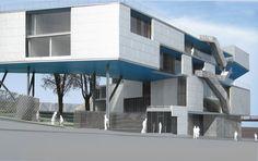 Galeria - Em construção: Centro Esportivo Campbell / Steven Holl Architects - 13