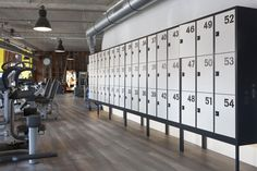 Smart Fit, Lockers, Divider, Club, Retro, Fitness, Room, Furniture, Home Decor