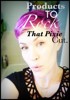 products for pixie cut