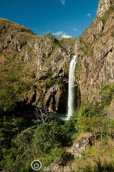 Fundao waterfall, Serra da Canastra National Park, Brazil