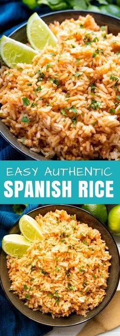 Spanish Rice is an easy and delicious side dish that goes well with any Mexican or Mexican-inspired meal.