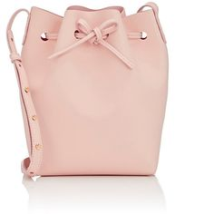 Mansur Gavriel Women's Mini Bucket Bag (4 845 SEK) ❤ liked on Polyvore featuring bags, handbags, purses, bolsa, pink, bucket bags, miniature purse, drawstring handbags, handbag purse and mini purse