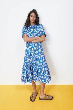Zara Spain, Zara United States, Zara Dresses, Spring Summer, Summer Dresses, Prints, Clothes, Style, Base