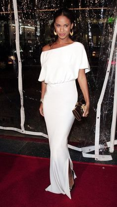 Joy Bryant in Erin Fetherston ~ Joy Bryant, Dream Prom, Classy Chic, Celebrity Look, Celebs, Celebrities, Dress Me Up, Types Of Fashion Styles, Stylish Outfits