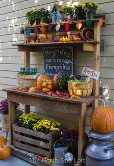 The North End Loft: Fall Potting Bench