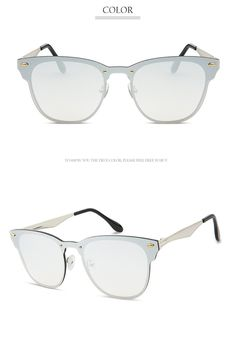 2418c78418 GUVIVI Polarized Clubmaster SunglassesClassic Vintage Semi Rimless  Sunglasses UV400 C3 Sliver 52   Continue to the product at the image link.