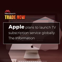 Apple plans to launch TV subscription service globally: The Information. Financial News, Investing, Product Launch, Apple, Technology, How To Plan, Website, Tv, Apple Fruit