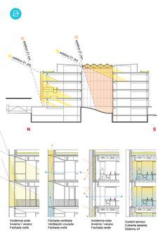 Conoce el primer premio del concurso Complejo Judicial en Bariloche, Argentina,Cortesía de Franco Riccheri - FRAM arquitectos