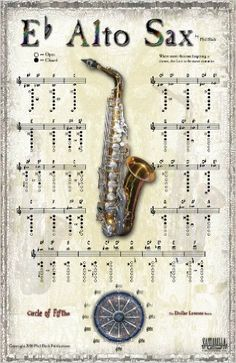 Amazon.com: INSTRUMENTAL POSTER SERIES - Alto Saxophone (0649571005238): Phil Black, Tony Santorella, Carolyn Connors: Books
