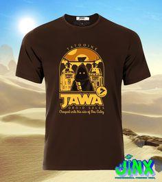 $179.00 Playera o Camiseta Star Wars Jawa Venta Droides - Jinx