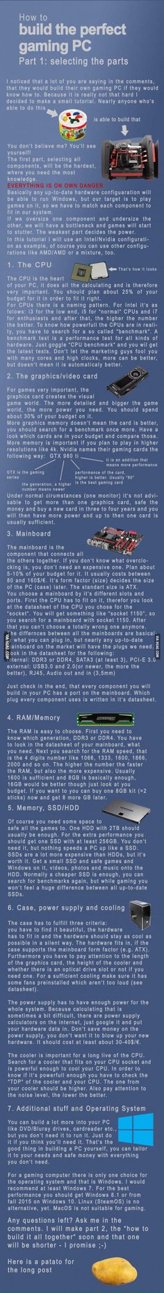I heard people in here wanted to build their own computer so here goes 9gaggers