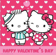 Dear Daniel and Hello Kitty on Valentine's Day (high res)