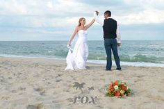 First Dance ion the beach at the Assateague Island State Park in Maryland:  https://www.roxbeachweddings.com/
