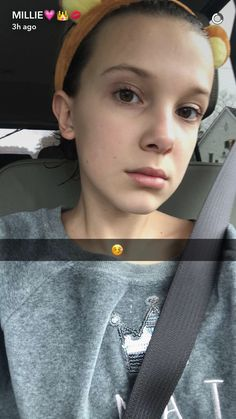 Even when she's sick, she's still on fleek Watch Stranger Things, Bobby Brown Stranger Things, British Actresses, Actors & Actresses, Post Malone, Millie Bobby Brown, Bobbie Brown, Browns Fans, Don T Lie