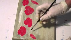 Tanja Bell How to Paint Red Poppies Acrylic Painting Technique Tutorial ...