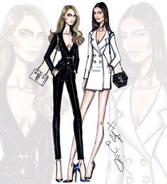 Cara & Kendall by Hayden Williams