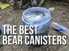 The bear canister: an essential piece of Pacific Crest Trail equipment that reminds thru-hikers of what they're truly afraid of out in the wilderness – being torn to pieces by a ravenous bear in the middle of their night (but we all there know there's sca Ultralight Backpacking, Backpacking Tips, Hiking Tips, Hiking Gear, Hiking Backpack, Travel Backpack, Thru Hiking, Camping And Hiking, Camping Life