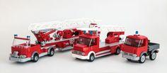 A trio of classy classic Fire Trucks http://www.brothers-brick.com/2016/03/16/a-trio-of-classy-classic-fire-trucks/