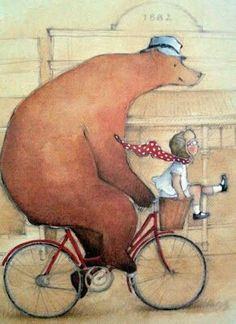 Maudie and Bear - Illustrated by  Jan Ormerod