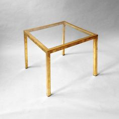 Timothy Langston - A 20th Century Brass Square Low Table