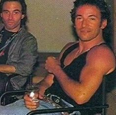 Bruce Springsteen with Nils Lofgren