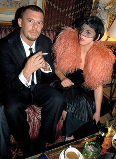 Alexander McQueen and Isabella blow