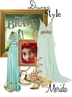"""Disney Style : Merida"" by missm26 ❤ liked on Polyvore"