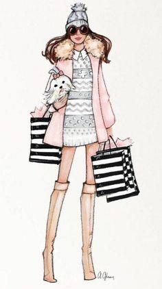 New fashion art girl dresses ideas Arte Fashion, New Fashion, Editorial Fashion, Trendy Fashion, Girl Fashion, Fashion Trends, Jean Délavé, Illustration Mode, Illustration Fashion