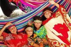 Mujeres Wayuu, Guajira, Colombia.