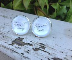 Hey, I found this really awesome Etsy listing at https://www.etsy.com/listing/257265694/gift-for-groom-groom-cuff-links-wedding