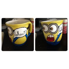 Despicable me minion mugs