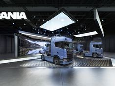 SCANIA EXHIBITION PROJECT / COMRTANS on Behance